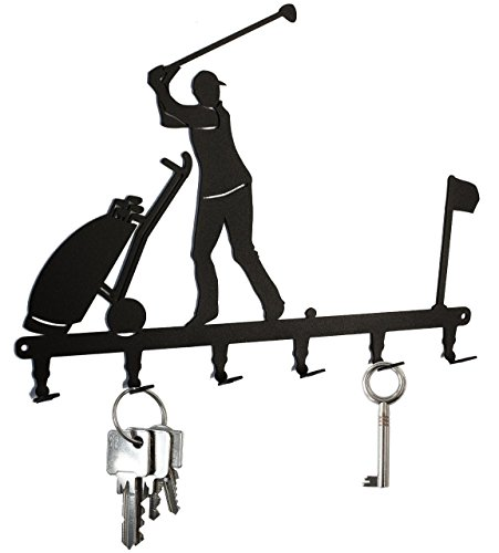 golfer-club-on-golf-course-key-hook-hanger-steel-black