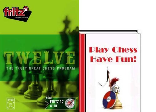 Fritz 12 Chess Playing Software Program & Play Chess - Have Fun Fritz E-Book (2 item Bundle)