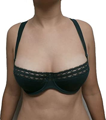 Andres Sarda Alexis Balconette Bra (370-2714) Jungle Green (32D)