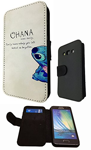 ohana family meaning fun cool design samsung galaxy a5 fashion trend book style brieftasche. Black Bedroom Furniture Sets. Home Design Ideas