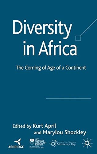 Diversity in Africa: The Coming of Age of a Continent