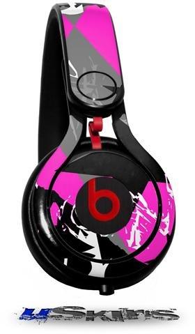 Scenekid Pink Decal Style Skin (Fits Genuine Beats Mixr Headphones - Headphones Not Included)