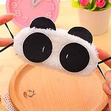 ZXCPlush Panda Pattern Eyeshade