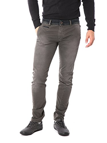 FIFTY FOUR - Pantalone da uomo super slim fit masan g720 w31 grigio