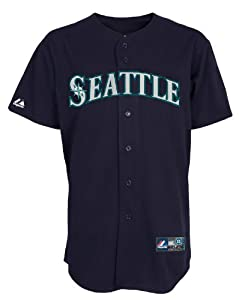 MLB Seattle Mariners Alternate Replica Jersey, Navy by Majestic