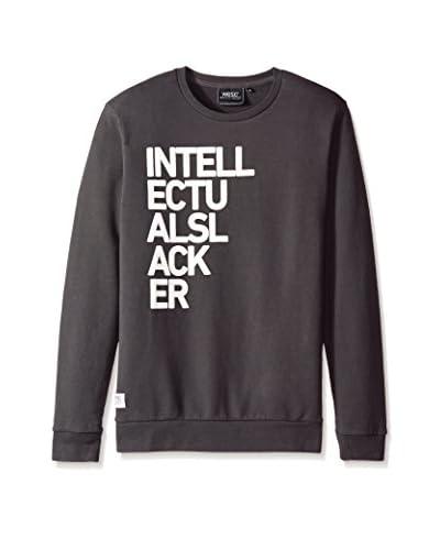 WeSC Men's Intellectual Crew Neck Sweatshirt