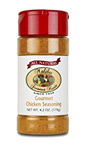 Malibu Gourmet Foods All Natural Chicken Seasoning - 4.2 oz. each (Pack of 4)