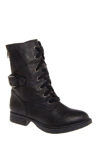 Mia Ricochett Low Heel Combat Boot