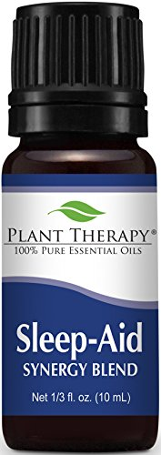 Sleep Aid Synergy Essential Oil Blend. 10 ml. 100% Pure, Undiluted, Therapeutic Grade. (Blend of: Mandarin, Ylang-Ylang, Valerian, Lavender and Neroli)