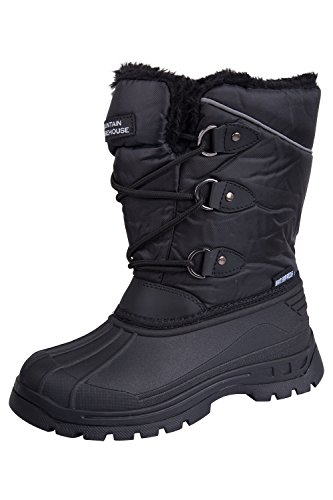 Mountain Warehouse Stivali da neve per bambini Whistler Nero 33