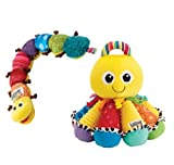 Lamaze Octotunes & Musical Inchworm (Birth+)-comes with a song book and vanilla scent