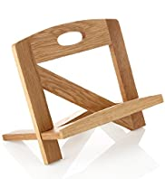 Oak Cookbook Stand