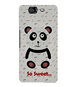 Teddy Bear Cute Fashion 3D Hard Polycarbonate Designer Back Case Cover for Micromax Canvas Knight A350 :: Micromax A350 Canvas Knight