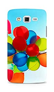 Amez designer printed 3d premium high quality back case cover for Samsung Galaxy Grand Max (Balloons)