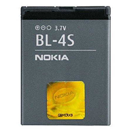 Batteria Originale Nokia BL-4S (860 mAh - Li-ion - 3,7V) per Nokia 2680 Slide, 3600 Slide, 3710 Fold, 7020, 7100 Supernova, 7610 Supernova, X3-02,.. Garantia: 12 mesi / Foneshop
