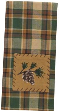 Park Designs Scotch Pine Decorative Dish Towel