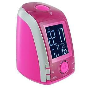 bigben rr45 radio alarm clock pink tv. Black Bedroom Furniture Sets. Home Design Ideas