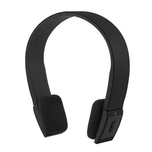 Chromo Inc. Smoove Series Bluetooth Stereo Wireless Headphones With Microphone For Iphone 5 4 4S Ipad Android All Bluetooth Devices - Black