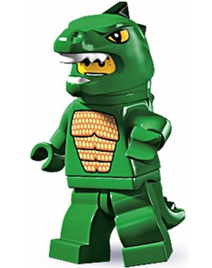 LEGO Series 5 Collectible Minifigure Lizard Man - Dino Man (Lego Suit)