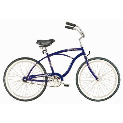 Men's Pantera Beach Cruiser Bike Color: Dark Blue
