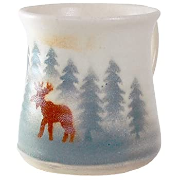 Handcrafted Moose Mug