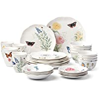 Lenox Butterfly Meadow 28-Piece Classic Dinnerware Set
