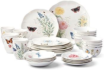 Butterfly Meadow 28-Pc Dinnerware Set