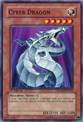 YuGiOh 5D's Card Game Machina Mayhem Single Card Cyber Dragon SDMM-EN013 Common