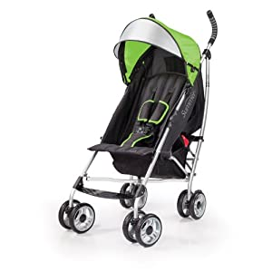 Summer Infant 3D lite Convenience Stroller, Tropical Green
