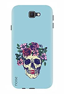 Noise Designer Printed Case / Cover for Samsung Galaxy On8 / Patterns & Ethnic / Flowers Skull Design