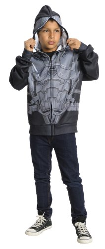 Rubies Man of Steel General Zod Hoodie, Medium