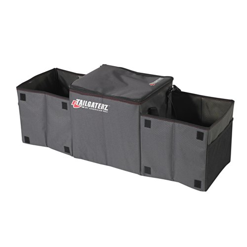 Tailgaterz-Cool-N-Carry-CoolerOrganizer-Game-Day-Graphite
