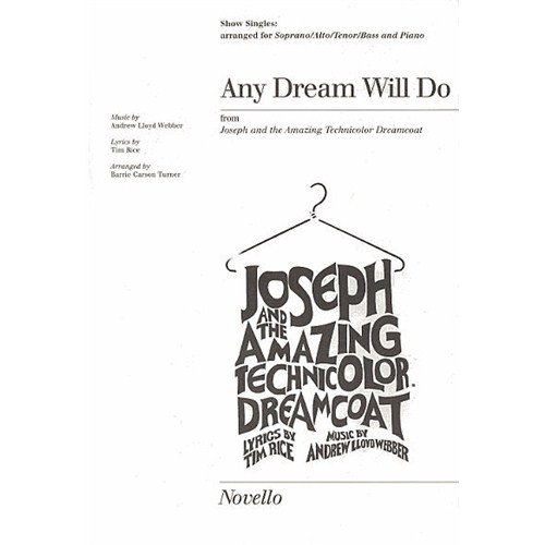 Any Dream Will Do Show Singles. Partitions pour SATB