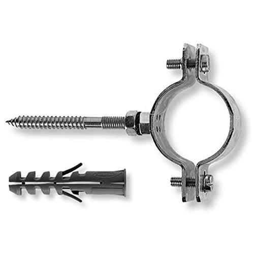 """FISCHER CPT 3/8"""" kit con collare pesante in acciaio zincato per tubi da 9.52mm"""