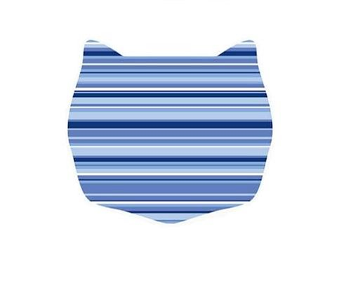 Cats rule small space mat caribbean stripe animals pet supplies pet supplies supplies litter - Litter boxes for small spaces paint ...