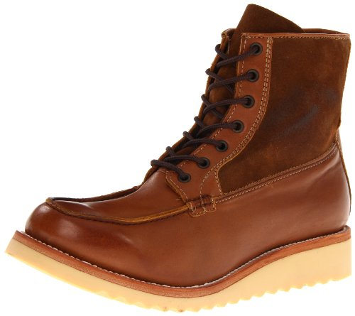 JD Fisk Men's Blade Lace-Up Boot,Tobacco Leather,11 M US