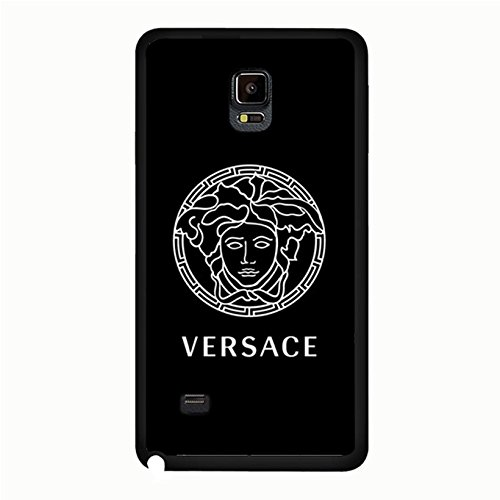 Samsung Galaxy Note 4 Cover Case Versace Logo Phone Case Snap on Samsung Galaxy Note 4 Glamorous Popular Luxury Versace Pattern Cover
