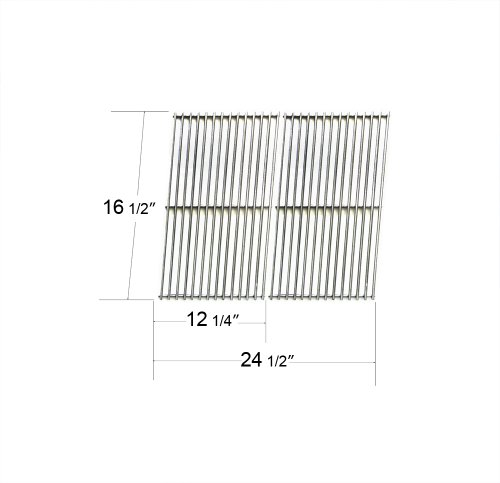 534S2 - Char-Broil, Charmglow, Ducane, Mhp, Pgs And Phoenix Replacement Stamped Stainless Steel Cooking Grids front-532026
