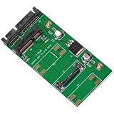 MacLab. mSATA (Mini SATA)→ 2.5インチ SATA 変換アダプター 【相性保証付き】