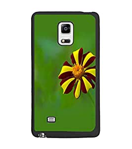 PrintDhaba Flower D-1962 Back Case Cover for SAMSUNG GALAXY NOTE 4 EDGE (Multi-Coloured)