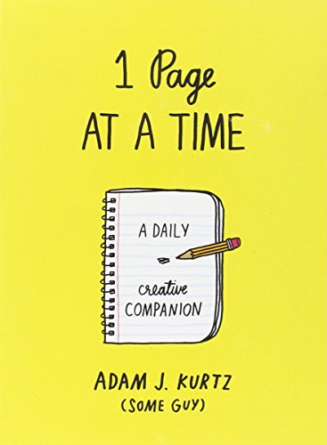 1 Page at a Time: A Daily Creative Companion PDF