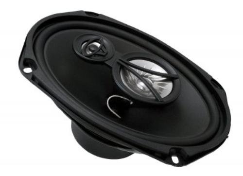"Cerwin-Vega Xed693 6""X9"" 3-Way Coaxial Speaker Set - 350W Max / 50W Rms Car Speakers"