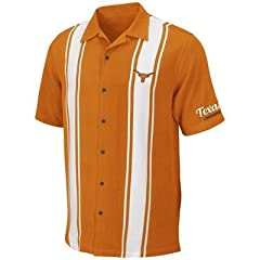 Texas Longhorns Mens Passage Camp Shirt by Chiliwear by Chiliwear LLC