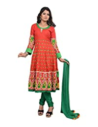 Sareeshut Women's Cotton Regular Fit Anarkali Suits - B00WQZ1E1Q