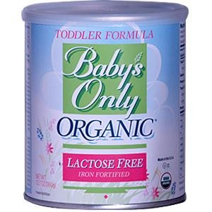Baby's Only Toddler Formula, Lactose Free, Organic, 12.7-Ounce Can