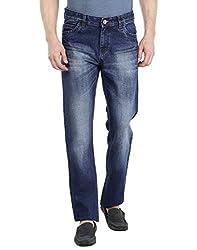 Fever Men's Jeans (60106-1-30_Blue)