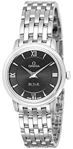 [オメガ]OMEGA 腕時計 デ・ビル ブラック文字盤 424.10.27.60.01.001 レディース 【並行輸入品】