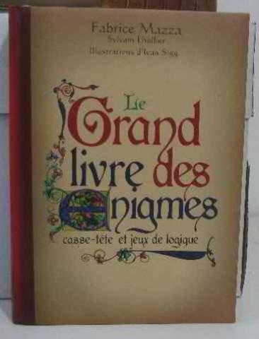 le grand livre des enigmes, casse-tete et jeux de logique....