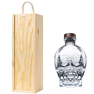 Crystal Head Vodka in Wooden Gift Box