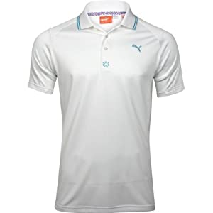 Puma Golf NA Mens CB Jacquard Polo Shirt by PUMA